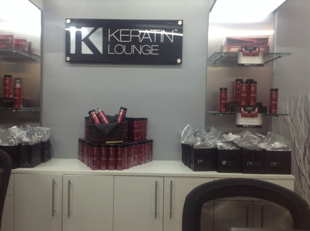Keratin lounge by lasio network event for 38th street salon